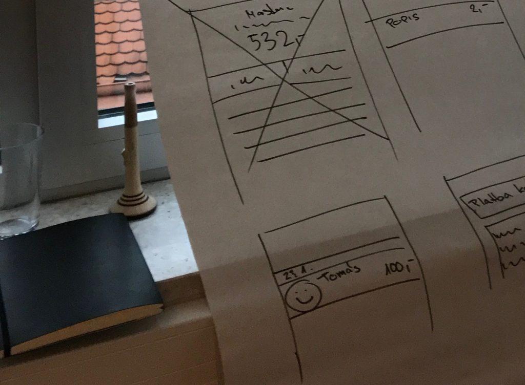 Concept testing - mockup