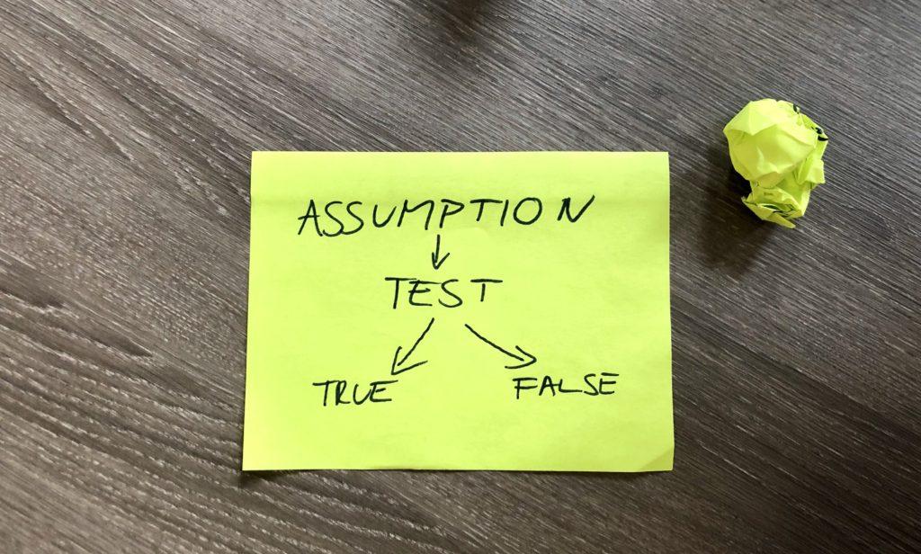 Assumption test